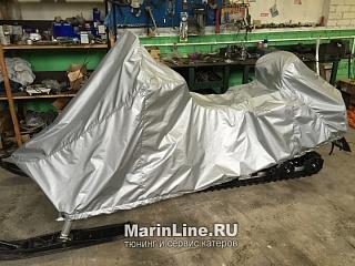Пошив тентов на снегоходы цена в компании «МаринЛайн». Ссылка на фотографию: http://marinline.ru/uploads/posts/2018-06/1528897557_poshiv-tentov-na-snegohodi-1.jpg