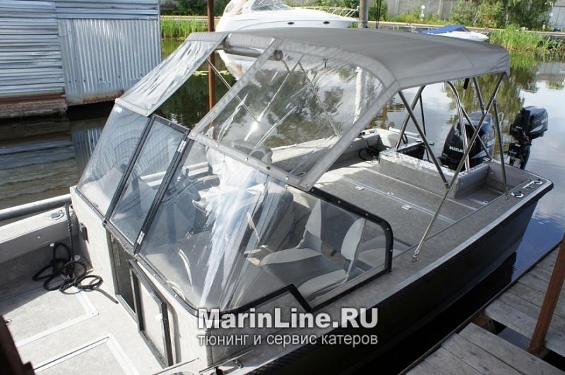 Биминитоп - тент на катере от солнца цена в компании «МаринЛайн». Ссылка на фотографию: http://marinline.ru/uploads/posts/2018-06/1528905321_biminitop-tent-na-katere-ot-solntsa-3.jpg