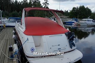 Биминитоп - тент на катере от солнца цена в компании «МаринЛайн». Ссылка на фотографию: http://marinline.ru/uploads/posts/2018-06/1528905383_biminitop-tent-na-katere-ot-solntsa-1.jpg