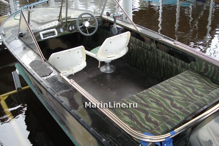 Тюнинг катера «Прогресс» цена в компании «МаринЛайн». Ссылка на фотографию: http://marinline.ru/uploads/posts/2018-06/1529407428_tjuning-katera-progress-3.jpg