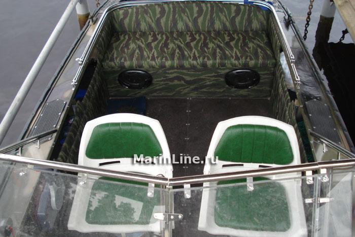 Тюнинг катера «Прогресс» цена в компании «МаринЛайн». Ссылка на фотографию: http://marinline.ru/uploads/posts/2018-06/1529407488_tjuning-katera-progress-4.jpg