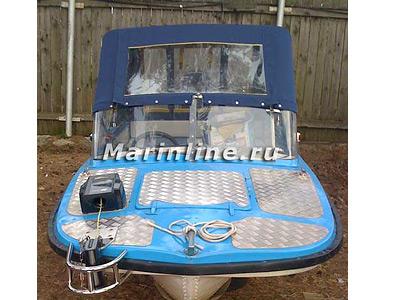 Тюнинг катера «Обь» цена в компании «МаринЛайн». Ссылка на фотографию: http://marinline.ru/uploads/posts/2018-06/1529407809_tjuning-katera-ob-v-konakovo-i-moskve-7.jpg