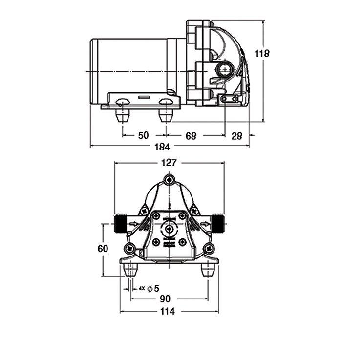 Aqua King Standard 3.0 насос электрический 24V цена в компании «МаринЛайн». Ссылка на фотографию: http://marinline.ru/uploads/posts/2018-07/1532506719_aqua-king-standard-3_0-nasos-jelektricheskij-24v-1.jpg