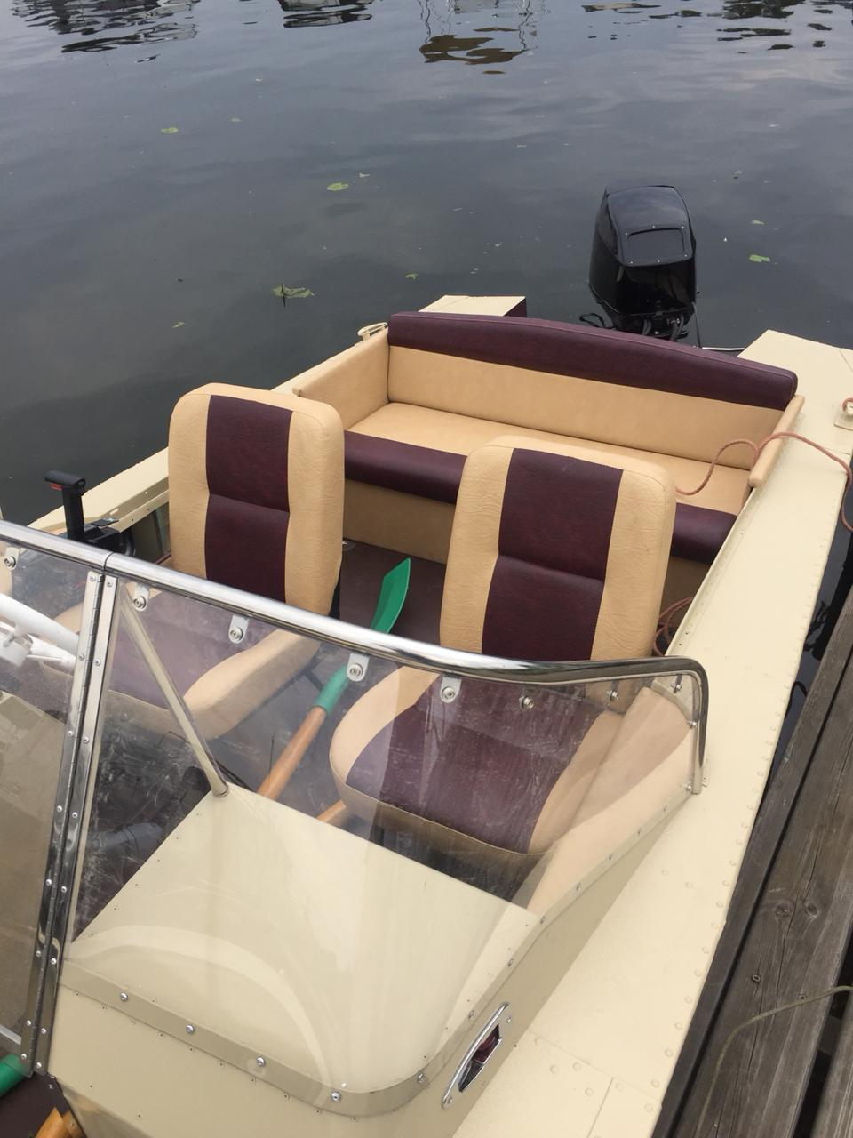 Тюнинг катера «Прогресс 2м» цена в компании «МаринЛайн». Ссылка на фотографию: http://marinline.ru/uploads/posts/2018-08/1533720884_photo-2018-08-07-15-42-46-2.jpg