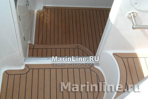 Флекстик - палубное покрытие имитация тика цена в компании «МаринЛайн». Ссылка на фотографию: http://marinline.ru/uploads/posts/2018-08/1534154760_palubnoe-pokrytie-karpet-flekstik3.jpg