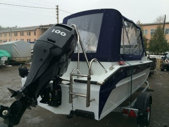Тюнинг катера «Амур» (Вера) цена в компании «МаринЛайн». Ссылка на фотографию: http://marinline.ru/uploads/posts/2019-01/1548769444_tjuning-katera-amur-vera-4.jpg