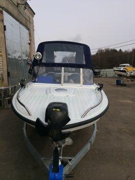 Тюнинг катера «Амур» (Вера) цена в компании «МаринЛайн». Ссылка на фотографию: http://marinline.ru/uploads/posts/2019-01/1548769490_tjuning-katera-amur-vera-3.jpg
