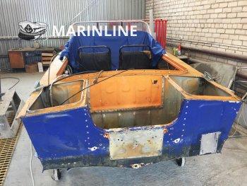 Комплексный ремонт катера «Прогресс 2М» цена в компании «МаринЛайн». Ссылка на фотографию: http://marinline.ru/uploads/posts/2019-01/1548858261_kompleksnyi-remont-katera-progress-2m-1.jpg