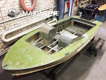 Комплексный ремонт катера «Прогресс 2М» цена в компании «МаринЛайн». Ссылка на фотографию: http://marinline.ru/uploads/posts/2019-01/1548858318_kompleksnyi-remont-katera-progress-2m-5.jpg